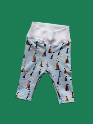 "Leggings ""Segelboote"""
